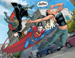 renee montoya vs superman