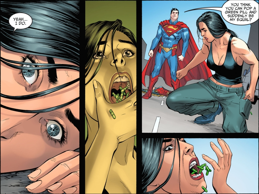 renee montoya vs superman