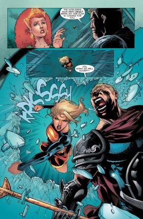 supergirl vs aquaman (convergence)