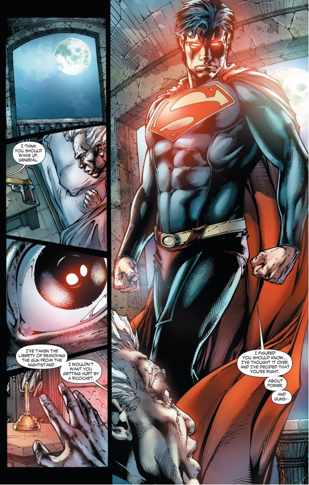 superman instigates a coup (earth 1)