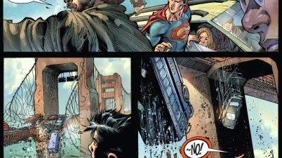 superman meets zod (earth 1)