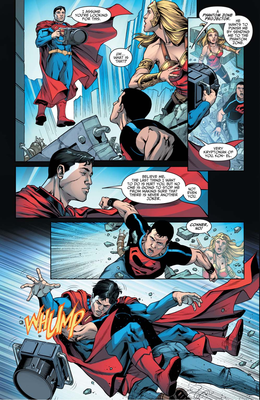 Superman Vs Superboy Injustice Gods Among Us Comicnewbies