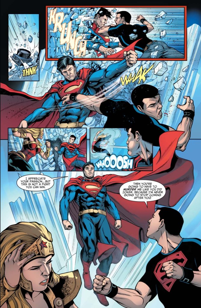superman vs superboy (injustice gods among us)