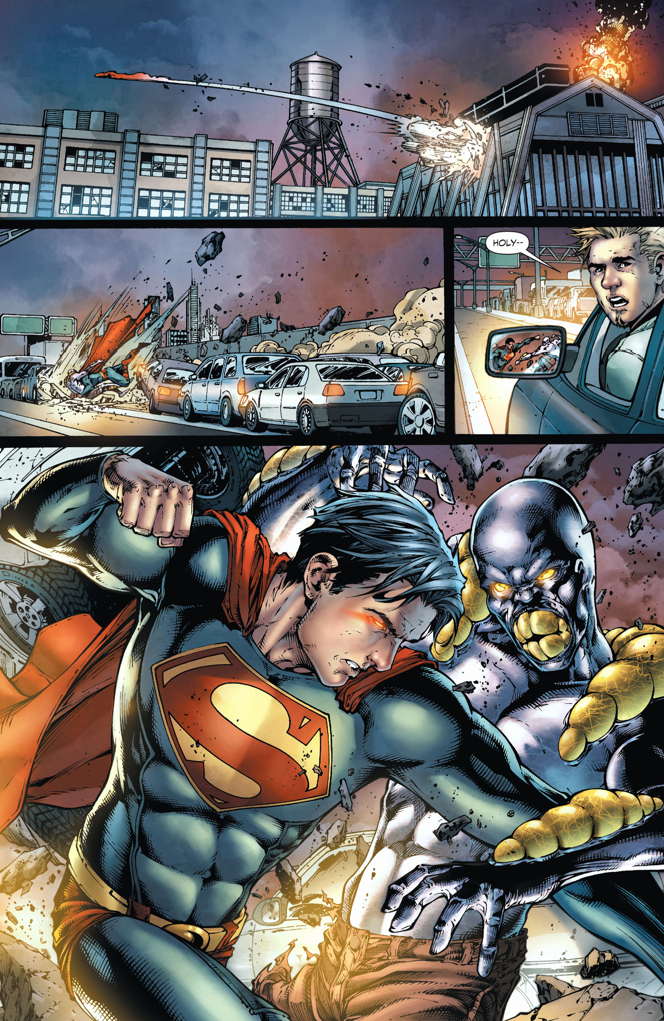 superman vs the parasite earth 1 comicnewbies
