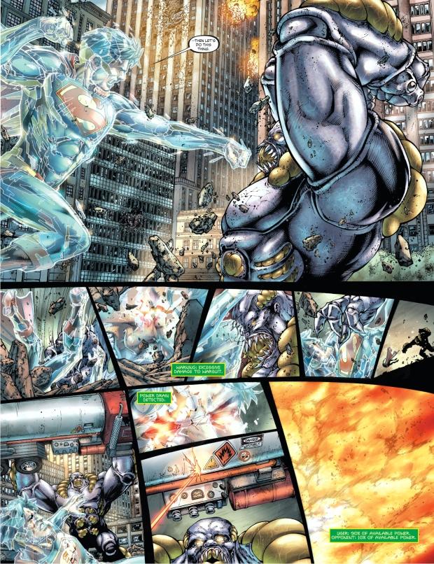 superman vs the parasite rematch (earth 1)