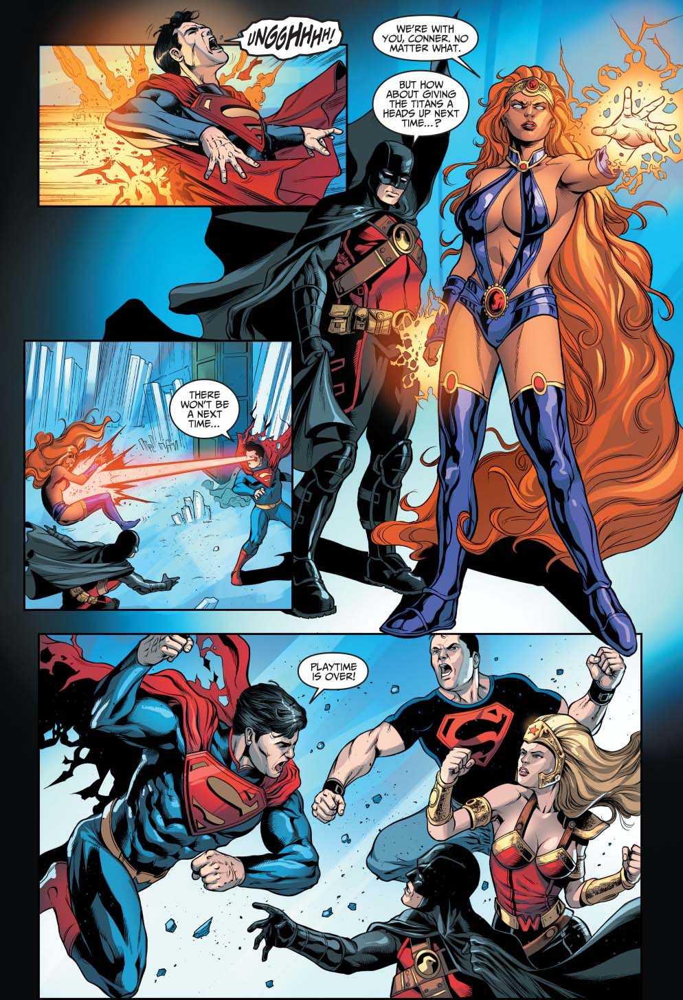 Superman Vs The Teen Titans Injustice Gods Among Us -4162