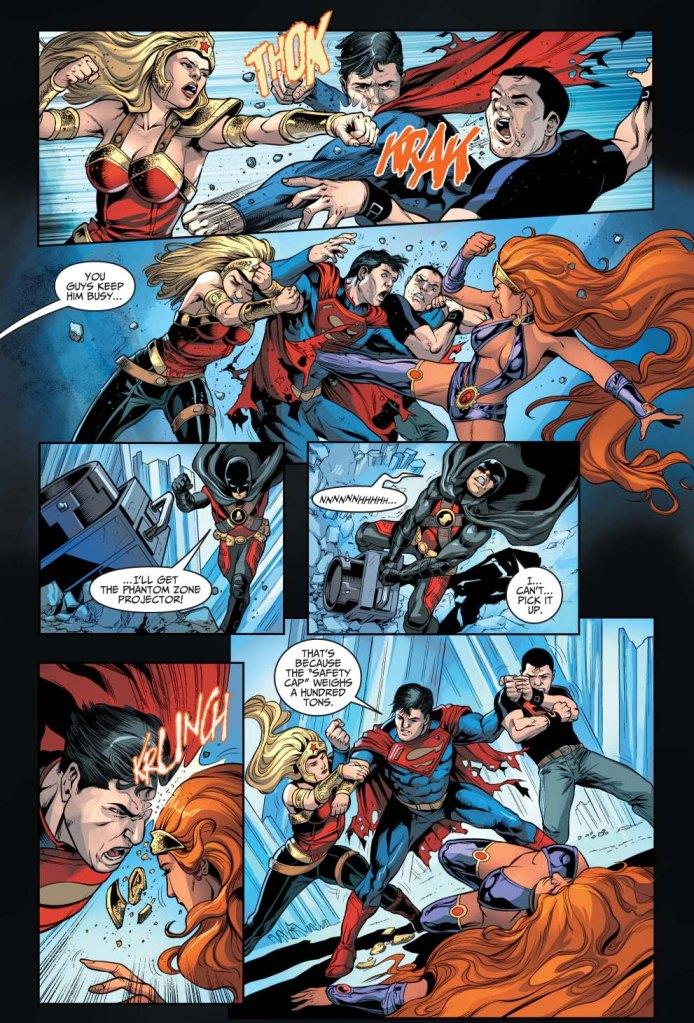 superman vs the teen titans (injustice gods among us)