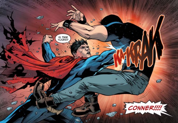 superman vs the teen titans (injustice gods among us)