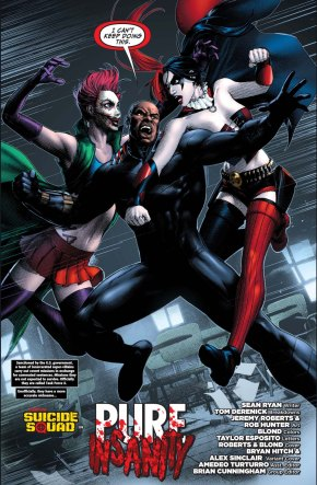 the joker's daughter taunts harley quinn