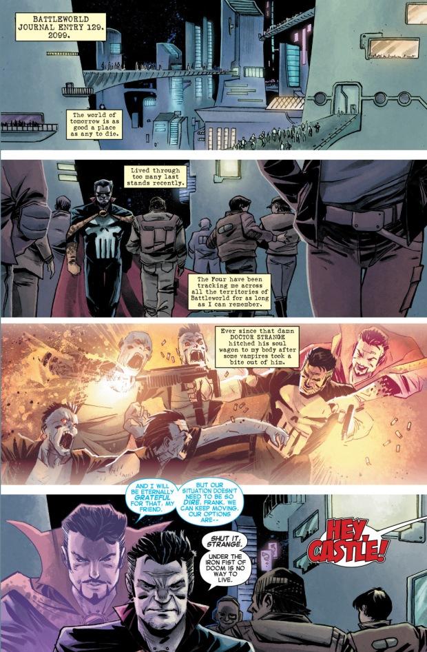 the punisher possessed by doctor strange (battleworld)