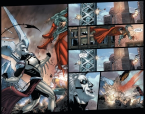 tyrell attacks superman (earth 1)