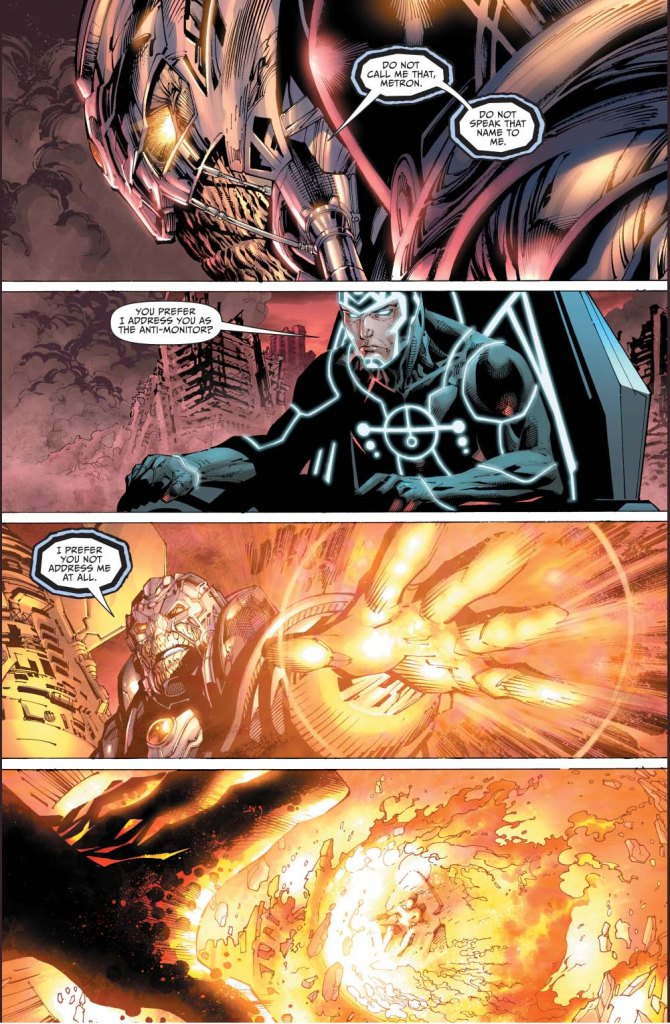 what the anti-monitor wants