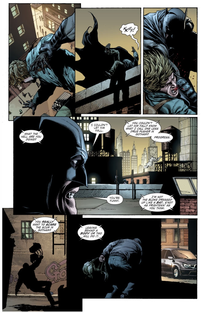 why batman doesn't kill (earth 1)