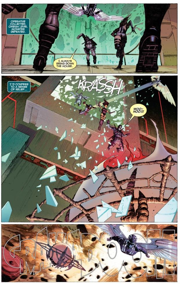 x-force rescues deadpool