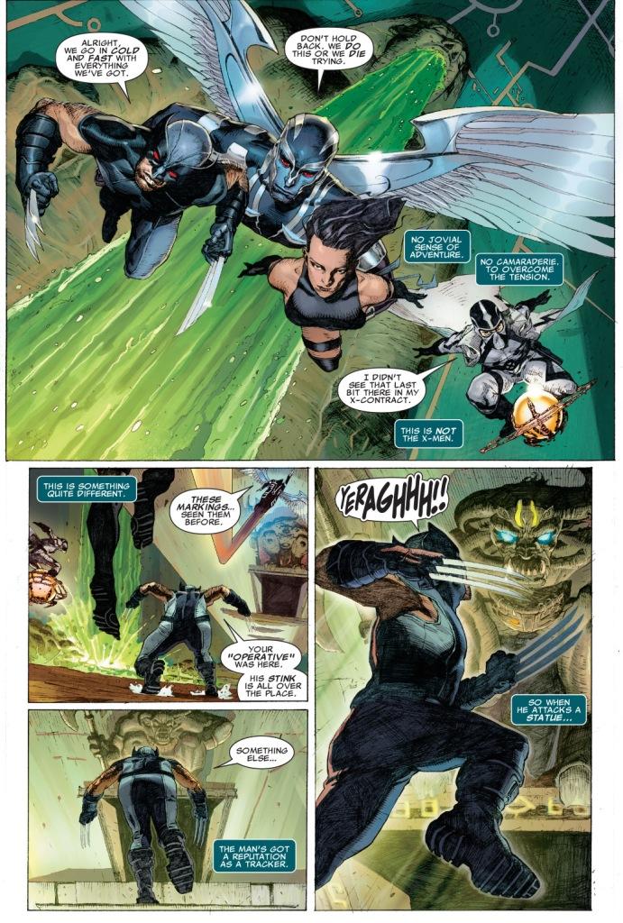 x-force vs war