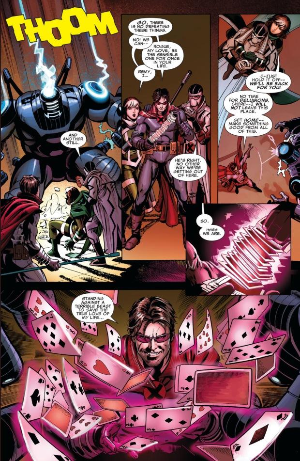age of apocalypse gambit's last stand
