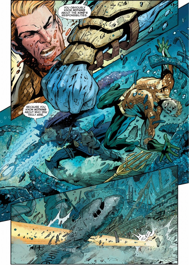 aquaman and mera vs the dead king