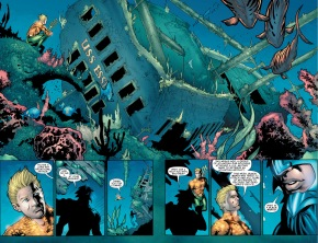 aquaman parleys with ocean master