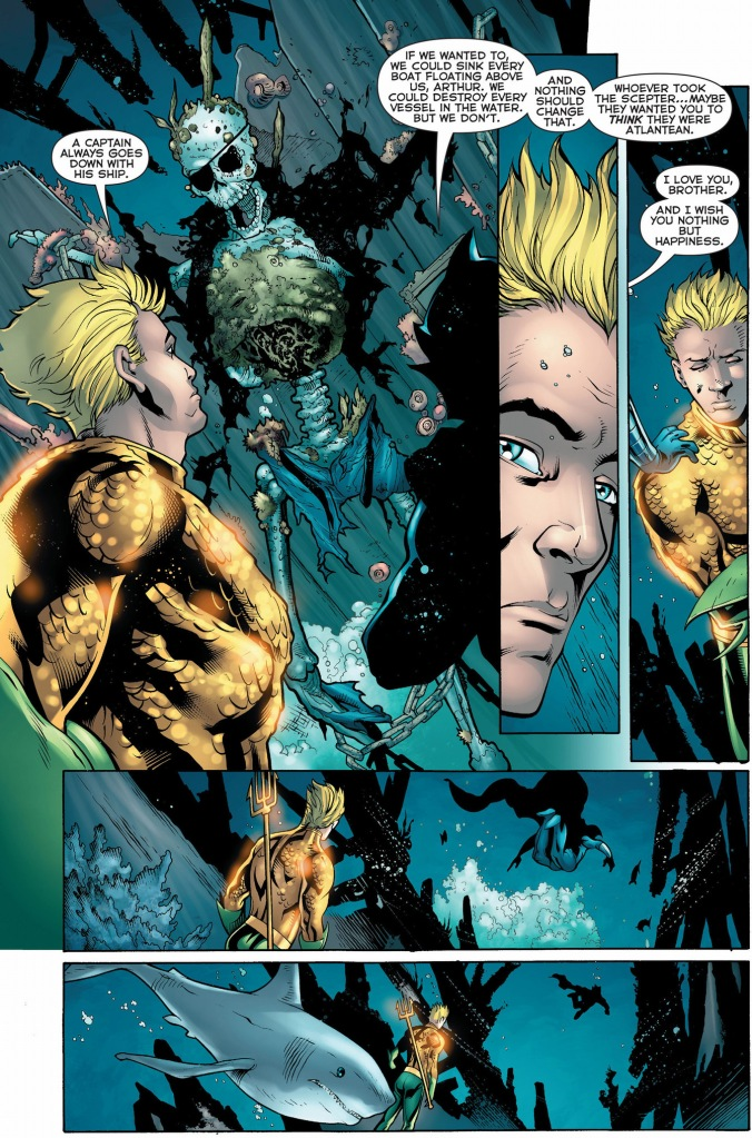 aquaman parleys with ocean master