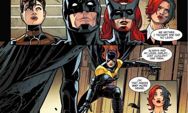 batgirl joins batman's team