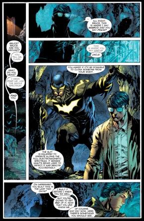 batman's stealth suit