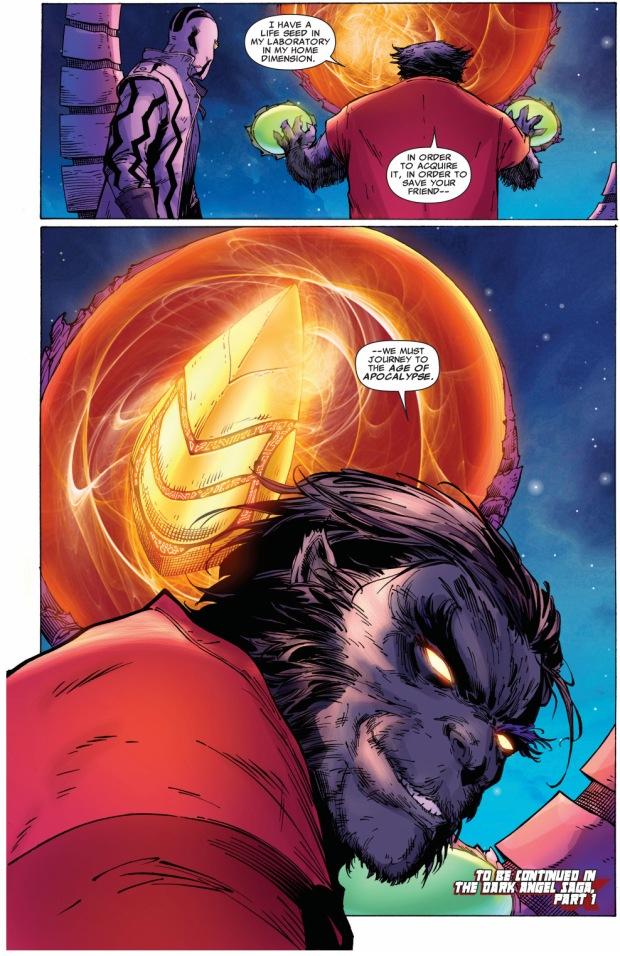 dark beast diagnoses archangel's ascension