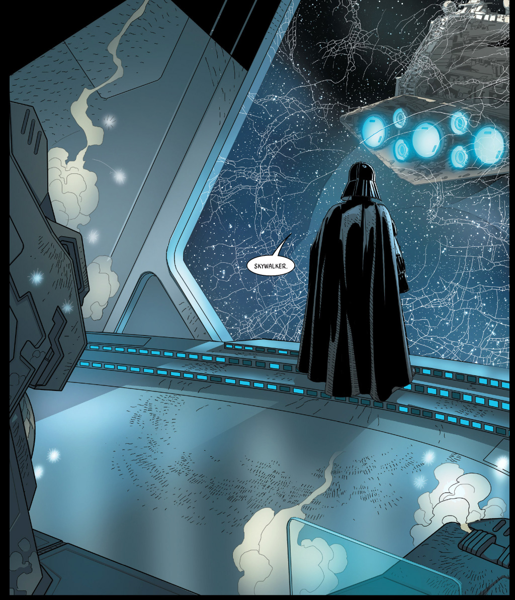 Darth Vader Learns Luke Is His Son  Comicnewbies