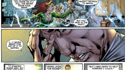 doctor shin's history with aquaman