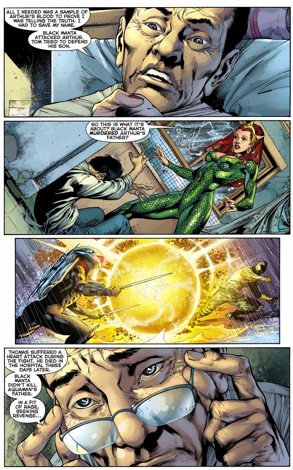 Doctor Shin's History With Aquaman   Comicnewbies
