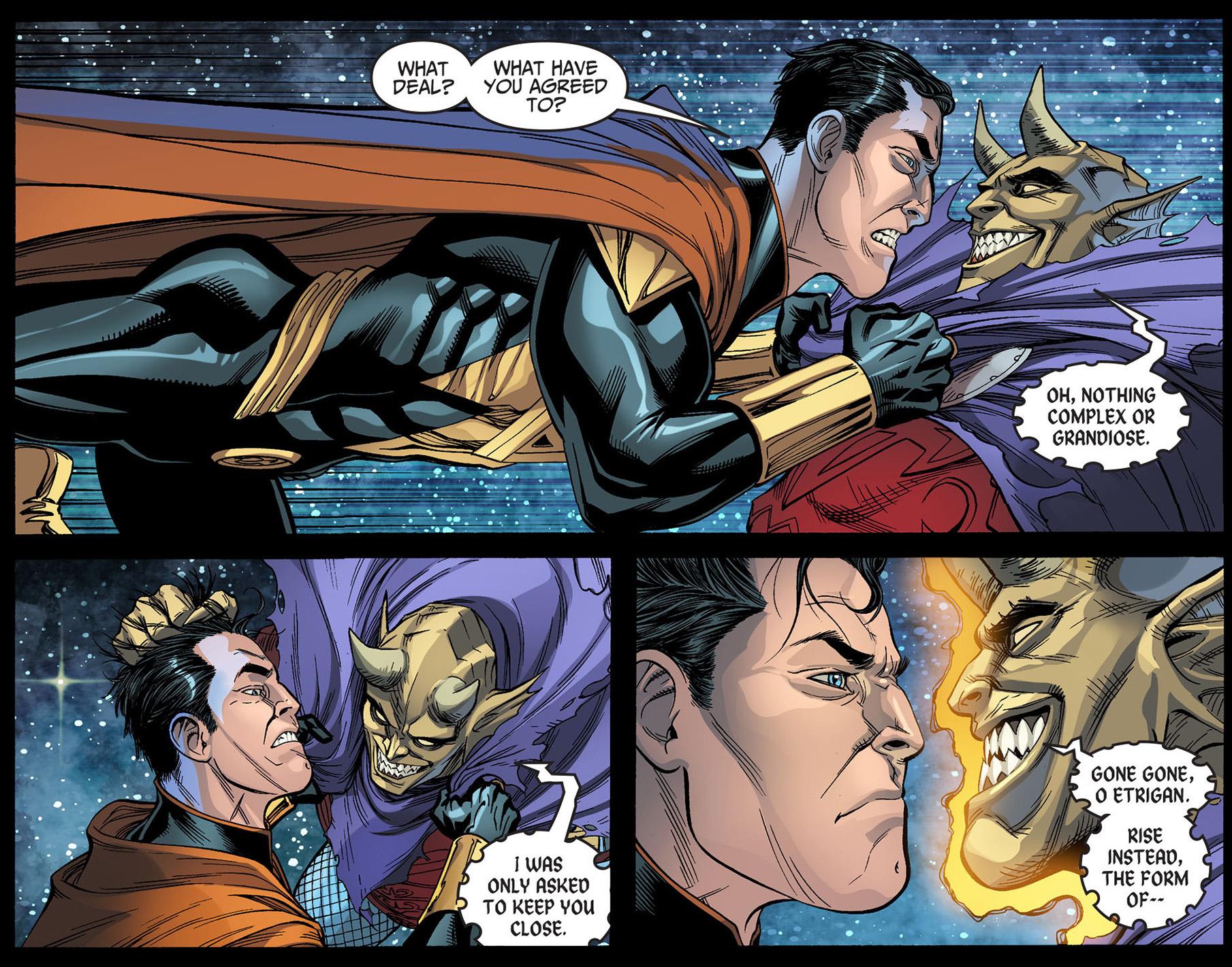 Etrigan Vs Superman Comic: Etrigan's New Host