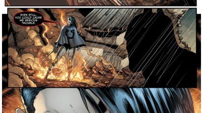 grail takes out batman
