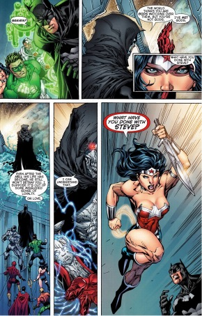 graves takes out wonder woman