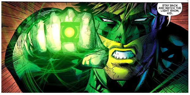 green lantern vs darkseid