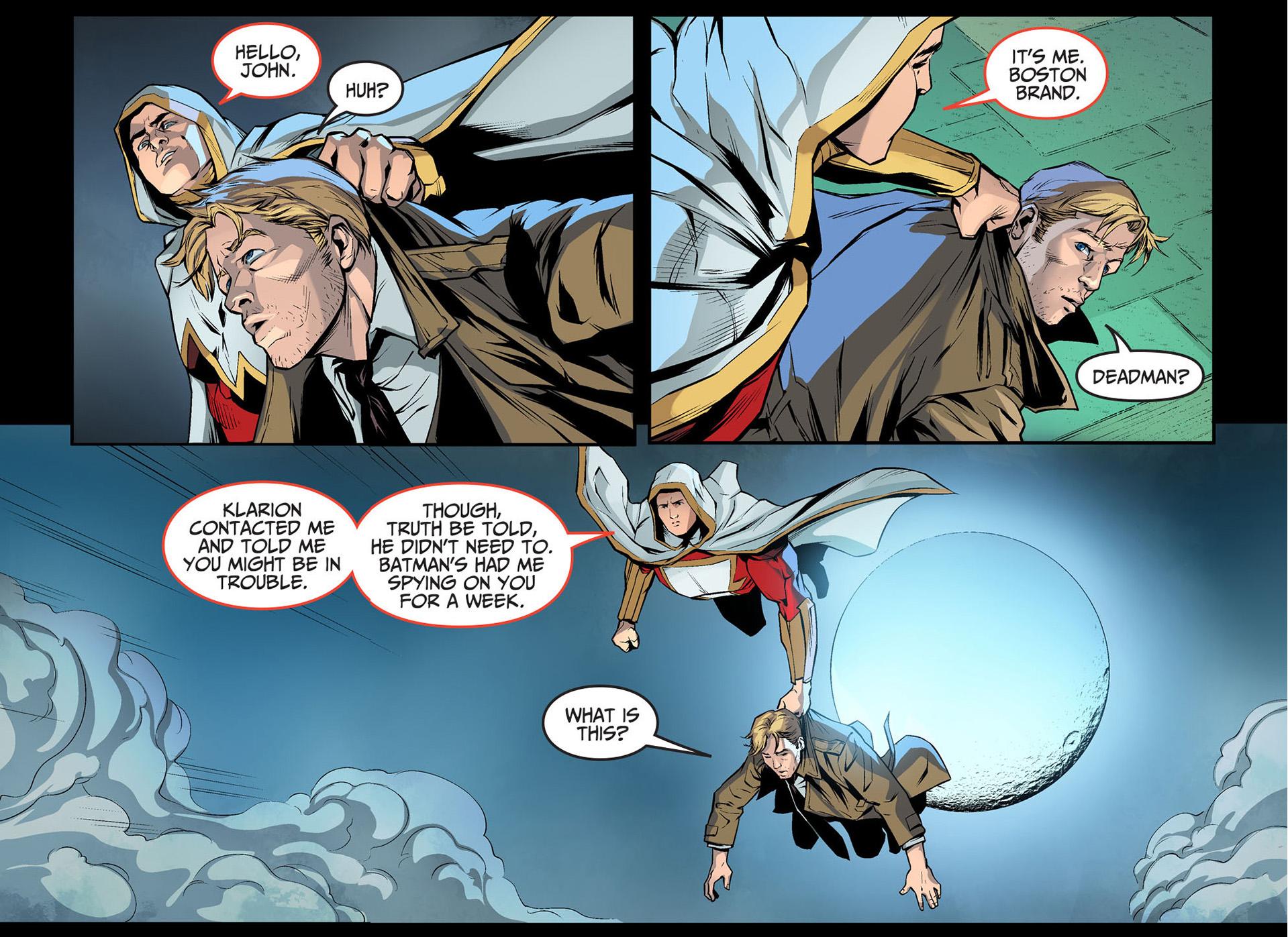 Etrigan Vs Superman Comic: How Deadman And Zatanna Rescued Constantine