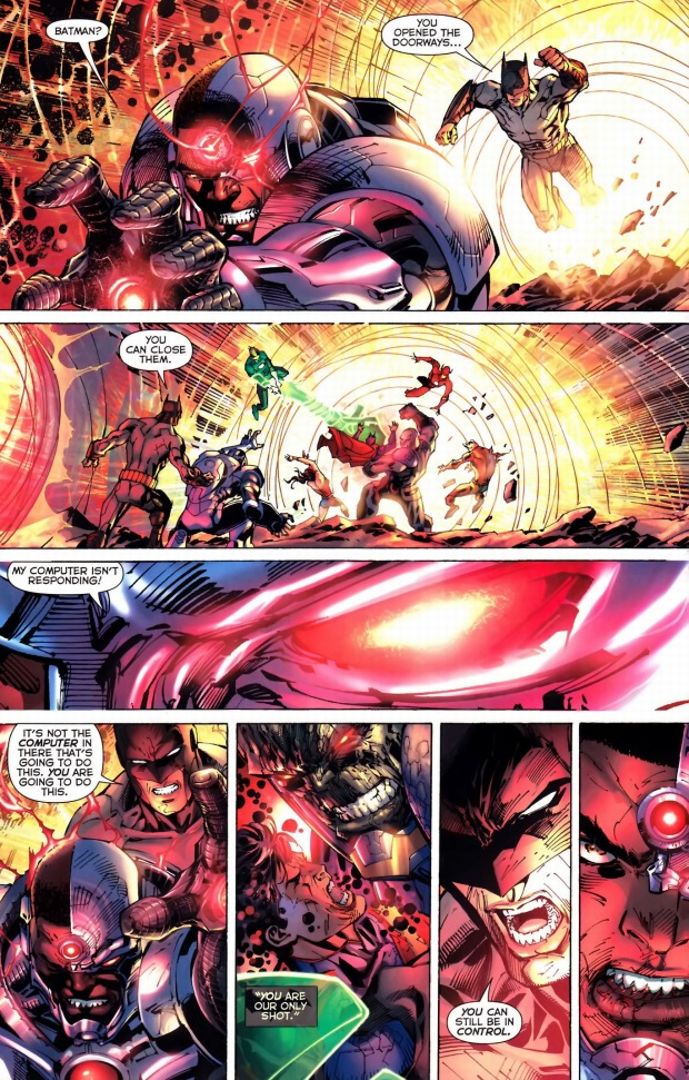 how the justice league defeated darkseid