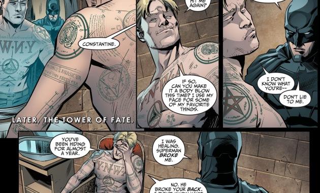 john constantine's tattoos
