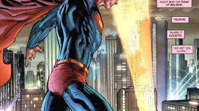 Lois Lane Summons Superman With The Superman Signal