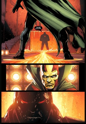mister miracle vs darkseid (justice league)