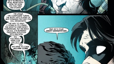 nightwing's great-grandfather is a talon