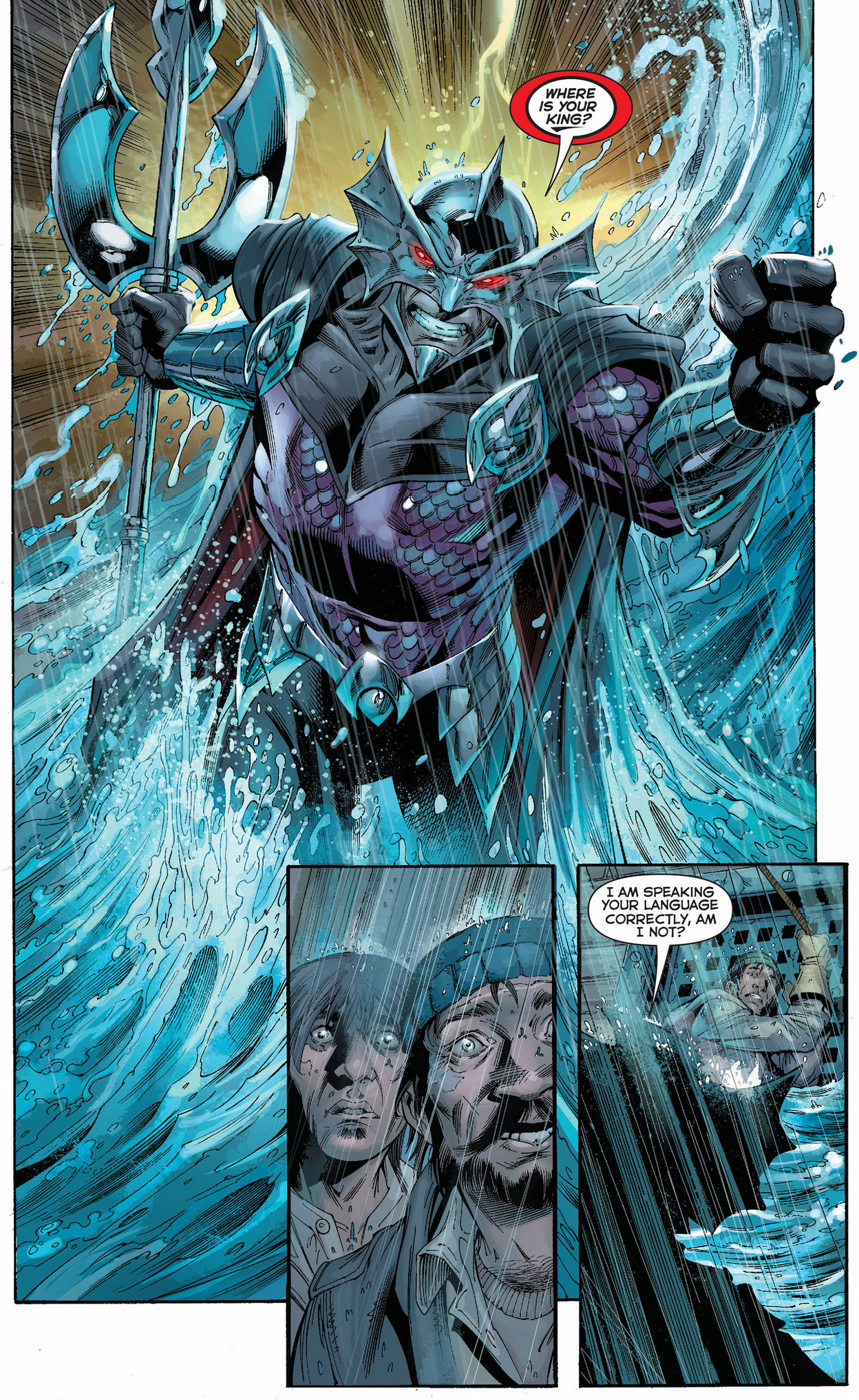 Ocean Master Interacts With Humans Comicnewbies