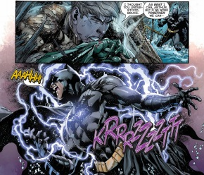 ocean master takes out batman