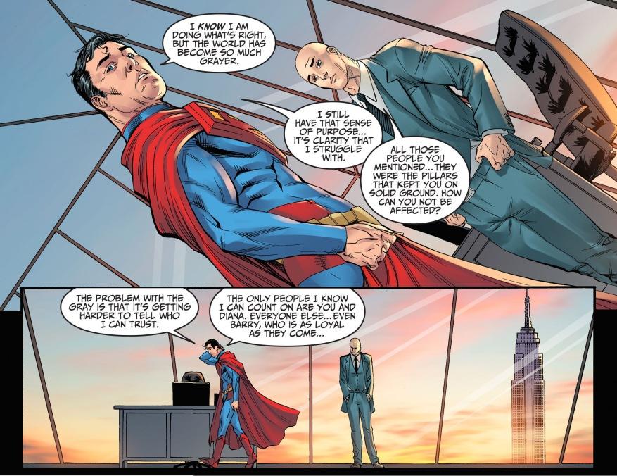 superman trusts lex luthor