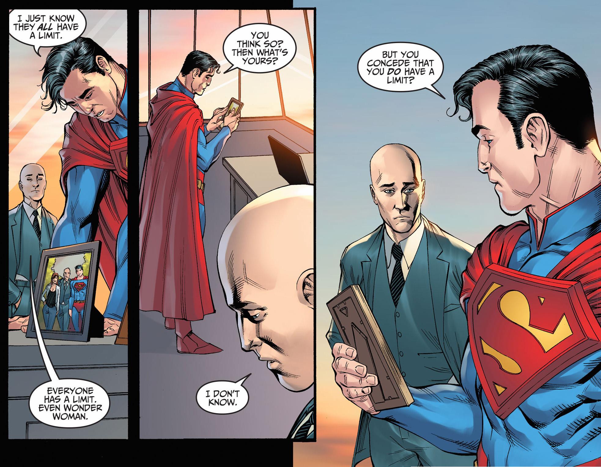 Superman Trusts Lex Luthor | Comicnewbies X 23 Gambit