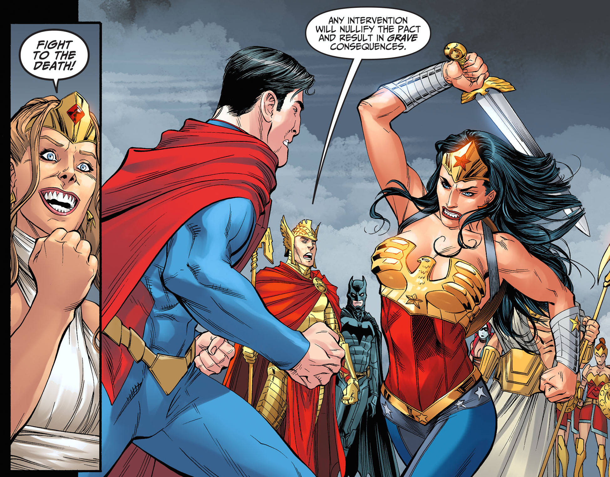 Superman Vs Wonder Woman Injustice Gods Among Us -9745