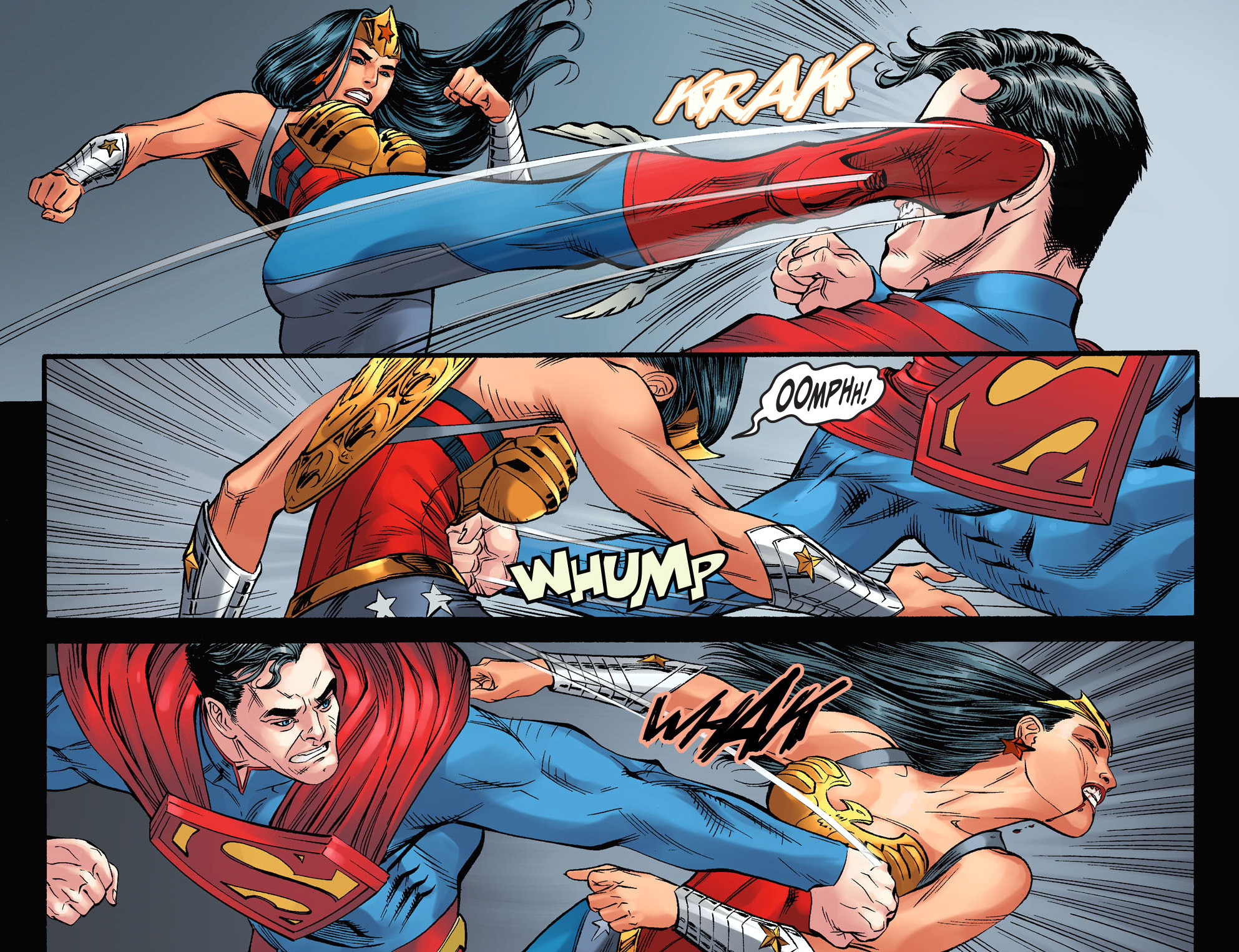 Superman vs wonder woman injustice gods among us - Superman wonder woman cartoon ...