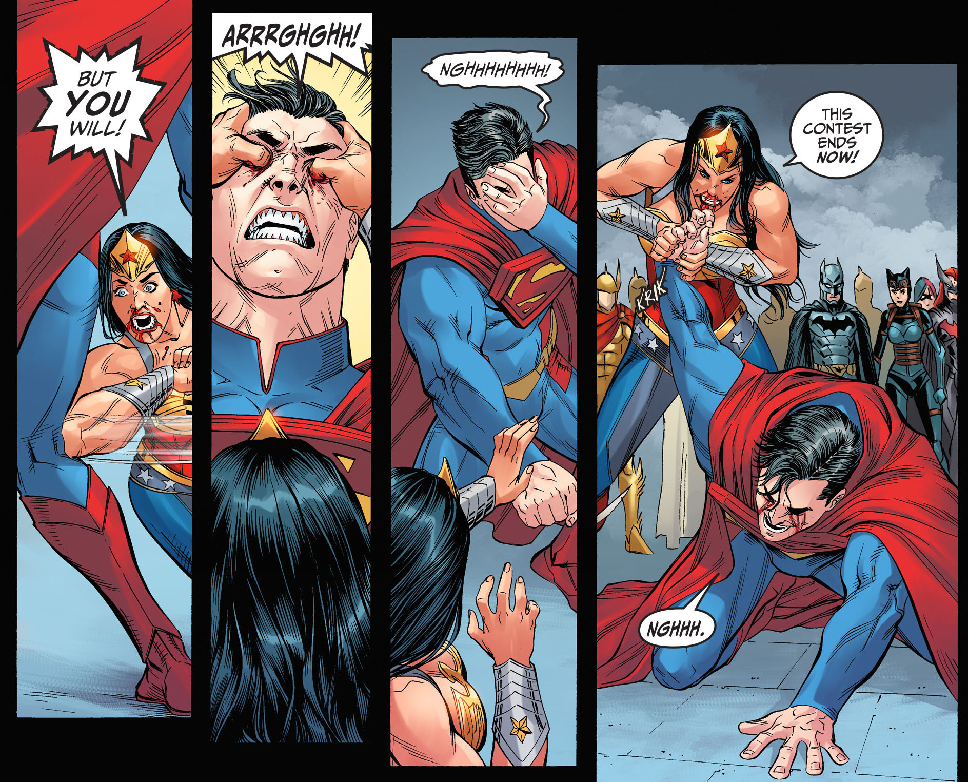 Superman versus wonder woman-7907