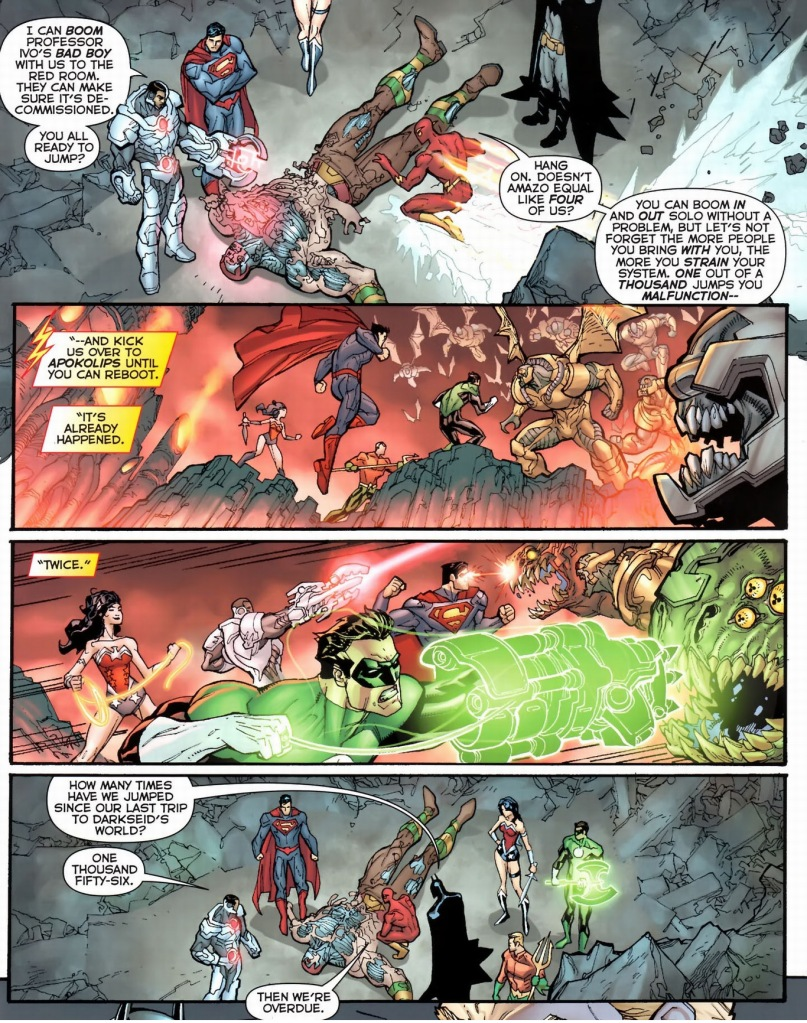 the bug in cyborg's boom tube