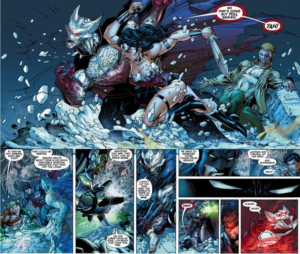 The Justice League VS Graves