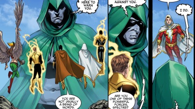 the spectre joins superman's side