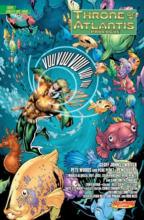 when aquaman needs to talk to ocean master